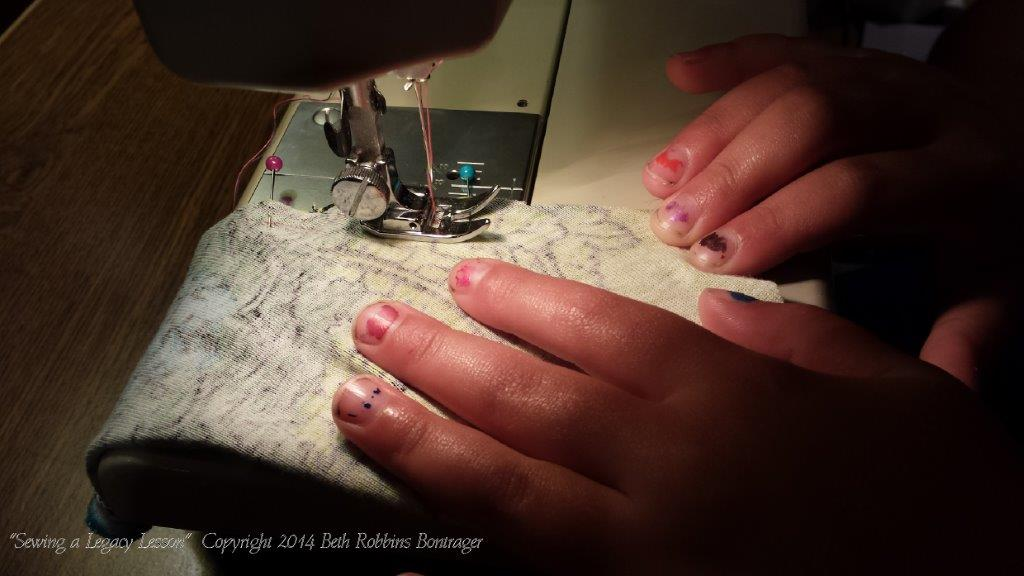 Sewing a Legacy Lesson